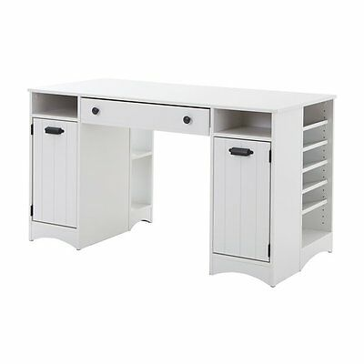 South Shore Furniture 7260727 Artwork Craft Table with Storage