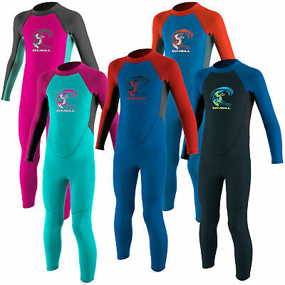 O'Neill 2mm Childs Toddler Epic Full Wetsuit Flatlock Steamer Surf Kayak Sail