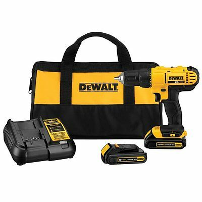 DEWALT DCD771C2 20-Volt MAX* Lithium-Ion 1/2-in Variable Speed Cordless Compact