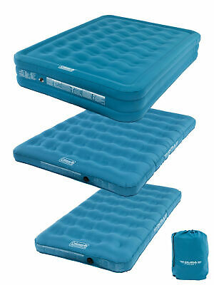 Coleman Durarest Airbed Single Double Raised Inflatable Bed Mattress Camping