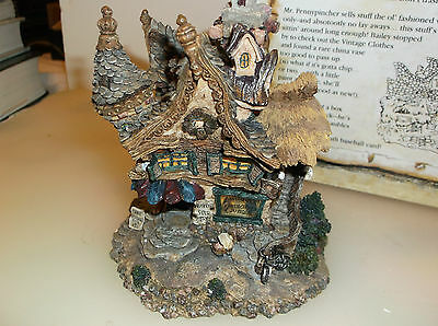 """Boyds Bearly-Built Villages """"Mr. Pennypincher's Collectibles Shoppe"""""""