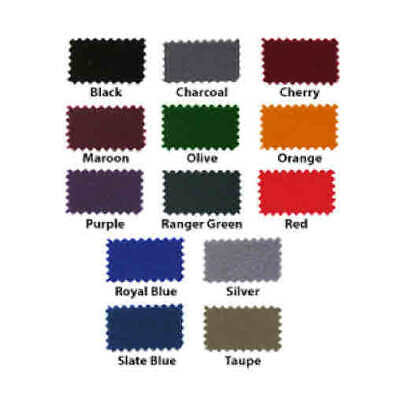HAINSWORTH English Pool Snooker Billiards CLOTH - 8 Ft by Colour
