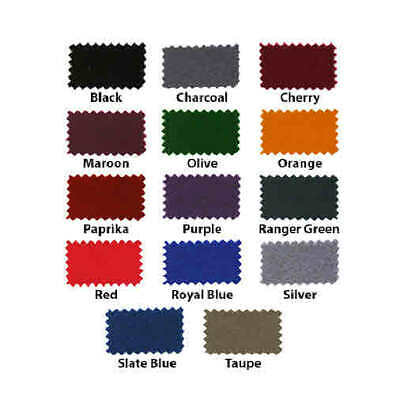 HAINSWORTH English Pool Snooker Billiards CLOTH - 7 Ft by Colour