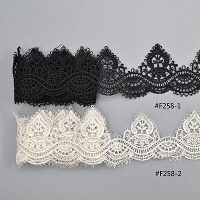 1X Hollow Lace Trim Ribbon Sewing On DIY Gothic Dress Jewelry Home Party Décor