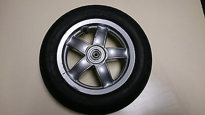 Piaggio Zip 50 4T 2008 Genuine Front Wheel With Tyre That Has Only Done 634 Km