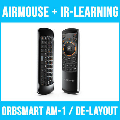 Orbsmart AM-1 kabellose Airmouse (2.4 Ghz) / Aiflymouse inkl. Gyro-Funktion
