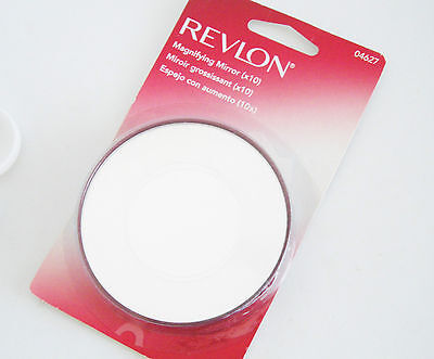 Revlon Magnifying Mirror (x10) Attach to any smooth surface with suction cups