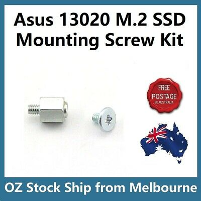 Asus 13020 M.2 SSD Mounting Kit Stand Off + Screws for Asus Motherboard