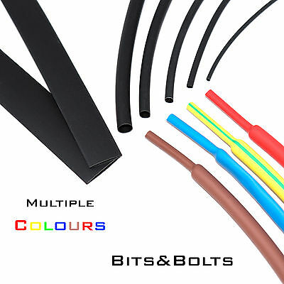 Heat Shrink Various Colours / Sizes / Lengths Sleeving Heatshrink Tube wire