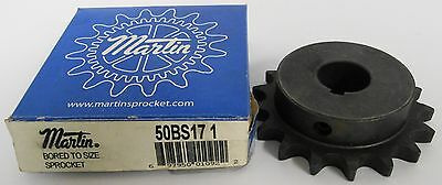 (2) Martin 50BS17-1 Bored to size Sprocket