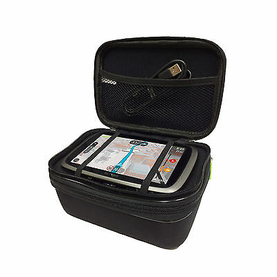 """6"""" Multi-Compartment Heavy Duty Carry All Case For TomTom GO 6100 6000 610 600"""
