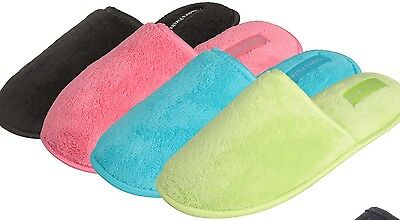 Wholesale Slippers Lot of 36prs WOMENS MEMORY FOAM INDOOR SLIPPERS, Only $2.90