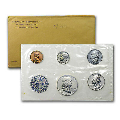 1960 U.S. Proof Set (Large Date Cent Variety)