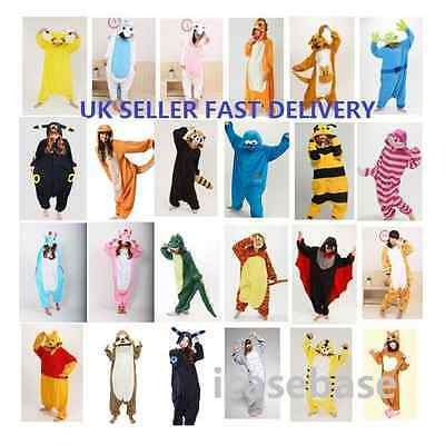 Anime Cosplay Kigurumi Pyjamas Animal Unisex Onesie23 Fancy Dress Sleepwear UK