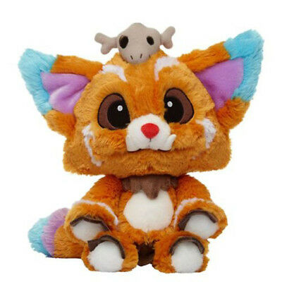 """GAME LOL League of Legends 2015 5S Finals Gnar Plush DOLL Toy 1:1 Size 12.5"""""""