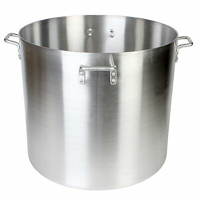 Thunder Group 200 Quart Aluminum Mirror Polished Stock Pot ALSKSP015 NEW