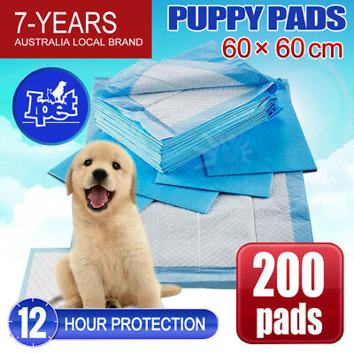 200pc  Puppy Pet Dog Indoor Cat Toilet Training Pads Super Absorbent Ultra Thin
