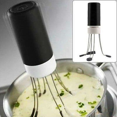 Automatic Hands Free Kitchen Robo Utensil Food Sauce Egg Auto Stirrer Blender GN