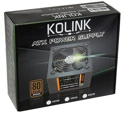Kolink KL-500 500W Power Supply 80 Plus Bronze