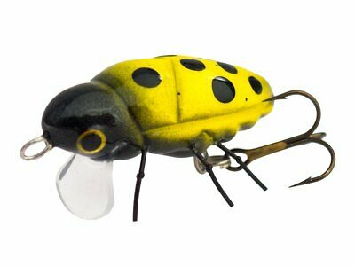 Microbait Great Beetle / 32mm 2g / floating topwater micro lure for orfe COLOURS