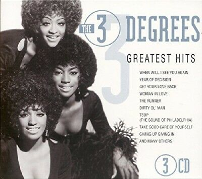 The Three Degrees-Greatest Hits-Cd (3) Goldies New
