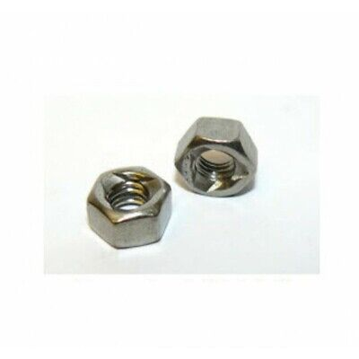 M6 A4 Stainless steel prevailing torque self lock nut DIN980