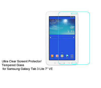 """For Samsung Galaxy Tab 3 Lite 7"""" VE Ultra Clear/Tempered Glass screen protector"""
