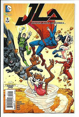 Justice League Of America # 5 (Looney Tunes Variant Cover, Jan 2016), Nm New