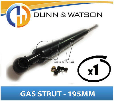Gas Strut 195mm-100n x1 (6mm Shaft) Bonnet, Cabinet, Trailers, Canopy, Toolboxes