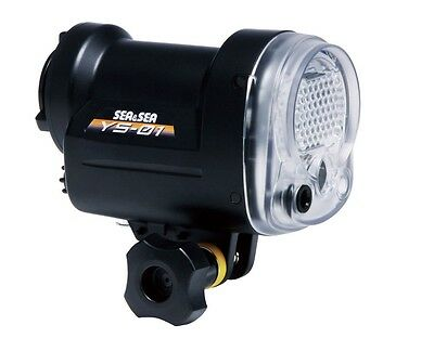 SEA & SEA Strobe YS-01 Underwater photography Flash Light TTL Scuba Diving