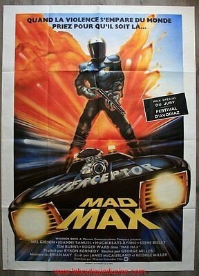 MAD MAX Affiche Cinéma / Movie Poster Mel Gibson 160x120