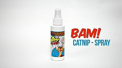 Bam Catnip Spray 120Ml Posted Same Day If Paid Before 1Pm