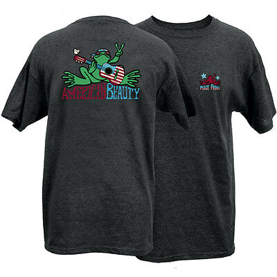 New Peace Frogs American Beauty Medium  Adult T-Shirt