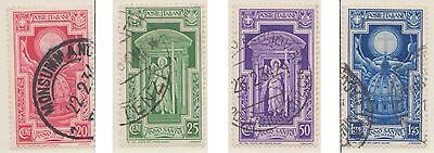 (ZN-40) 1933 Italy part 4set 20c to 1.25L Holy year