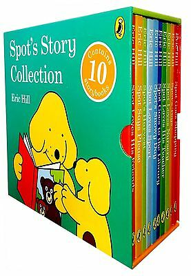 Spot the Dog Story Collection Eric Hill 10 Books Box Set Childrens Collection