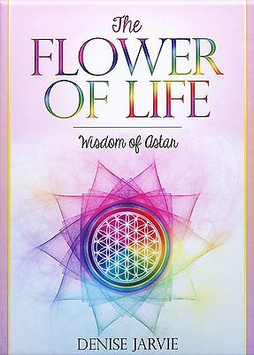 Flower of Life Oracle Set Deck Cards Wiccan Pagan Metaphysical