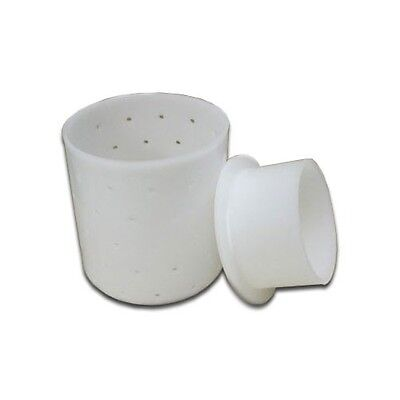 Cheese Making Mold 3- Cylinder, Base & Follower, +FREE ebook, +FREE SHIPPING