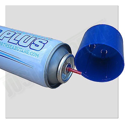 1 x Ultra Pure Butane Gas Extra Purified Impurities Fuel Torch Lighter Refill