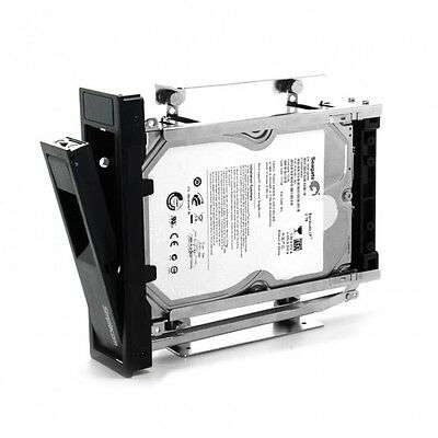 "6Internal 5.25"" Bay Mobile Rack 3.5"" SATA HDD Backplane Enclosure"
