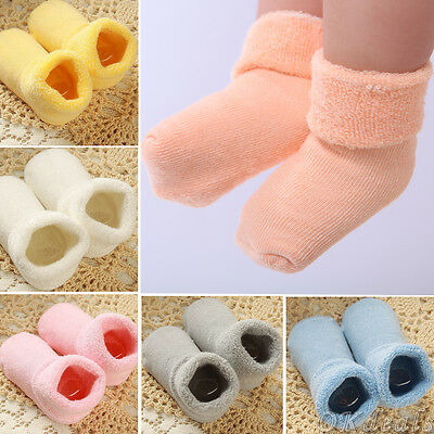 Newborn Baby Winter Warm Boots Girl Boy Toddler Infant Soft Sock Booties Shoes