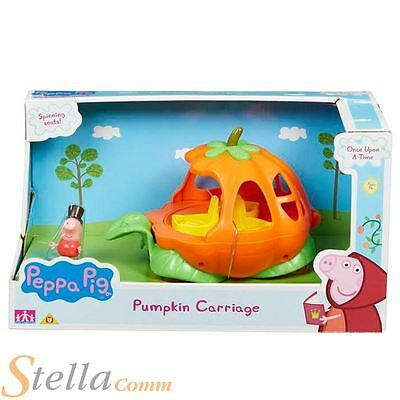 Peppa Pig Pumpkin Carriage Once Upon A Time Storytime Playset & George Figure