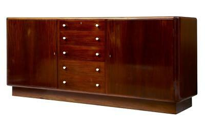 LARGE 1950's DANISH MAHOGANY SIDEBOARD