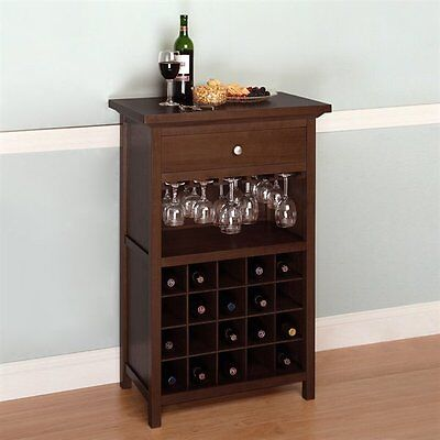 Winsome Wood 94441 Cabinet Wine Rack