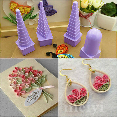 Paper Quilling Border Buddy Bobbin Tower Tool Quilled Creation Craft DIY Kit Set