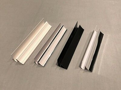 Coving PVC Trim For Ceiling & Wall Panels Bathroom Shower Cladding Plastic