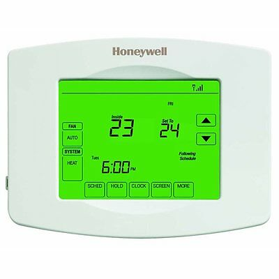 Honeywell RTH8580WF1004 7-Day Touch Screen Programmable Thermostat with Built-in