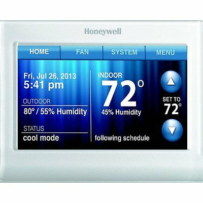 Honeywell RTH9580WF1013 7-Day Touch Screen Programmable Thermostat with Built-in