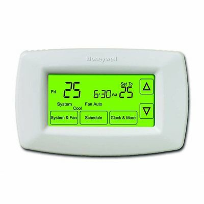 Honeywell RTH7600D1063 7-Day Touch Screen Programmable Thermostat