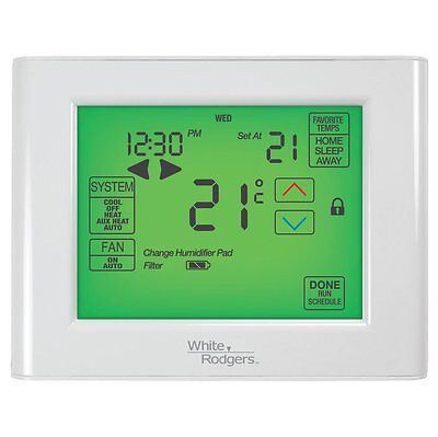 White-Rodgers UP400C 7-Day Touch Screen Programmable Thermostat