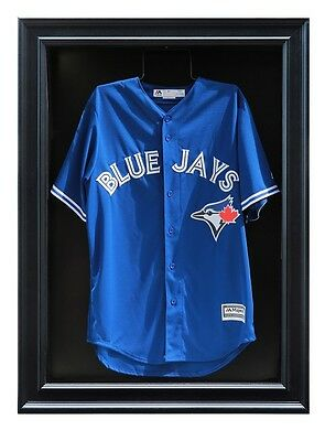Canadian Manufactured Sports Jersey Display Case. Black, Medium and Large Size
